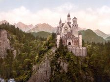 Neuschwanstein Castle LOC print rotated3